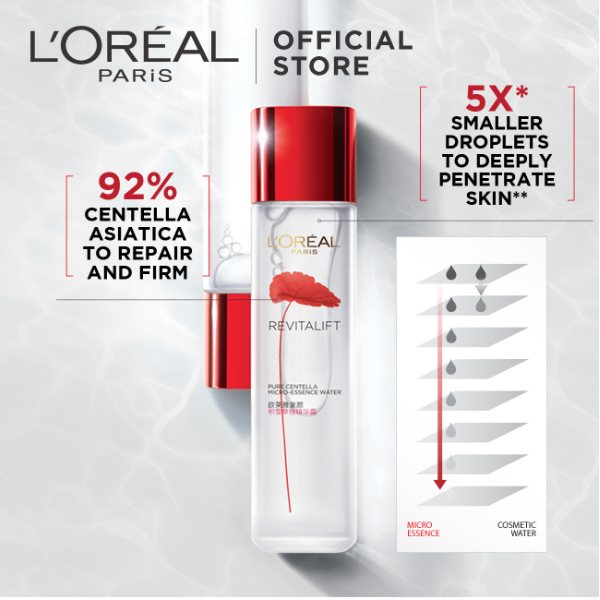 L'Oréal REVITALIFT ANTI-AGING MICRONIZED CENTELLA ESSENCE WATER 130 ML