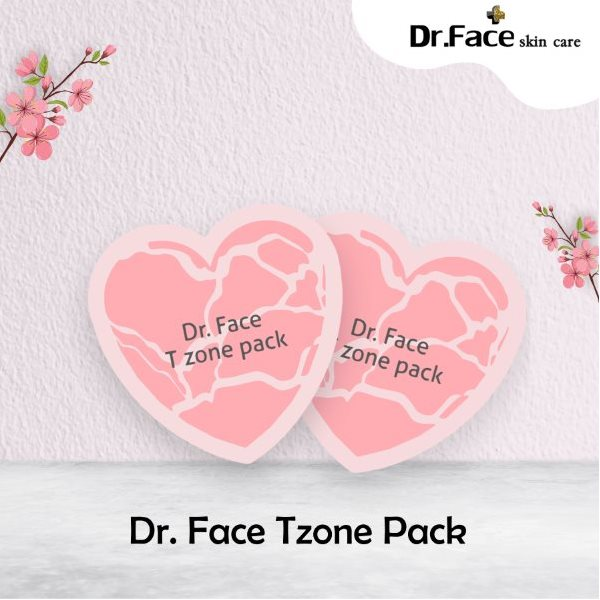 15%Off Dr.Face T-Zone Pack 2ml - Oct promotion