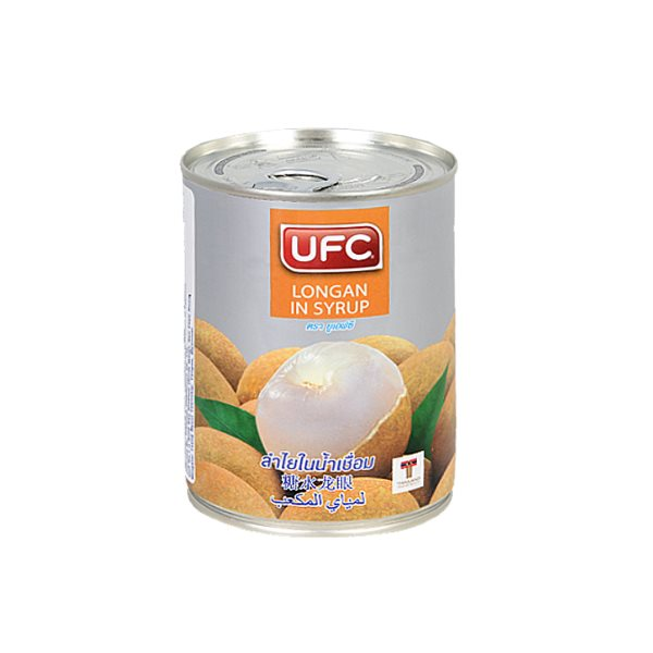 UFC WHOLE LONGAN IN SYRUP 565G