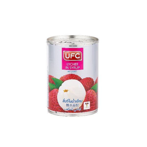 UFC WHOLE LYCHEE IN SYRUP 565G