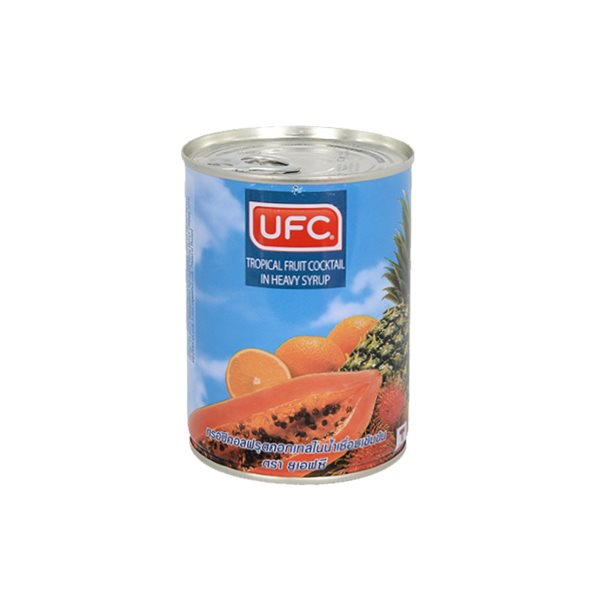 UFC TROPICAL FRUIT COCKTAIL IN SYRUP 565G