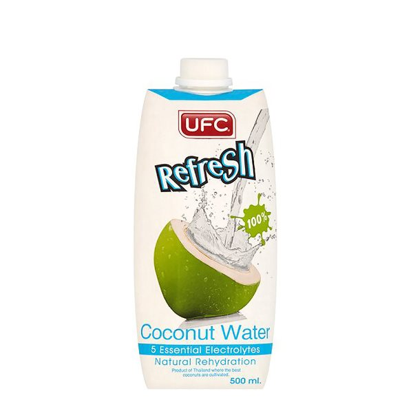 UFC REFRESH COCONUT WATER 100% MIXED JUICE 500ML