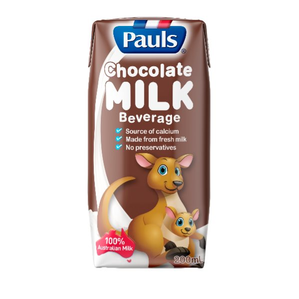 PAUL`S UHT MILK CHOCOLATE 200ML