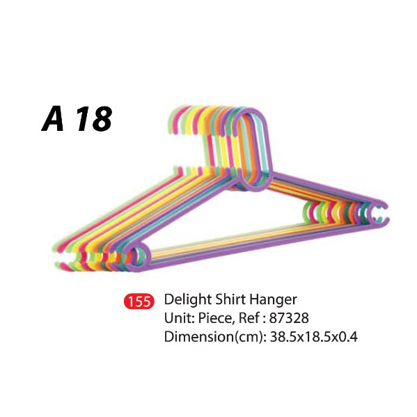 A-18 Delight Hanger-Set-of-6(Random Color)