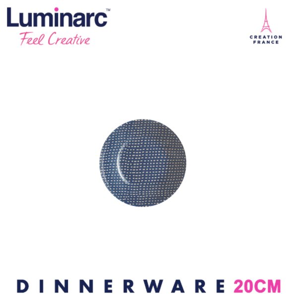 LUMINARC TEMPERED EGEE SOUP PLATE 20CM