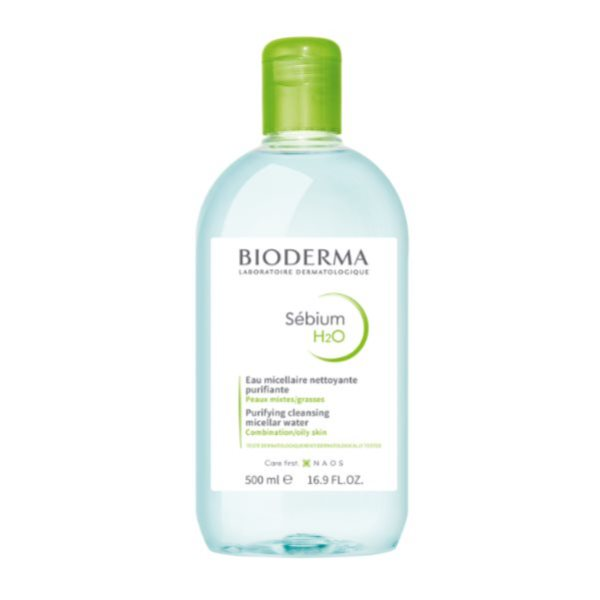 20%Off Bioderma Sebium Oily Cleanser / Micellar Water - 500 ml  - Oct promotion ( Beauty)