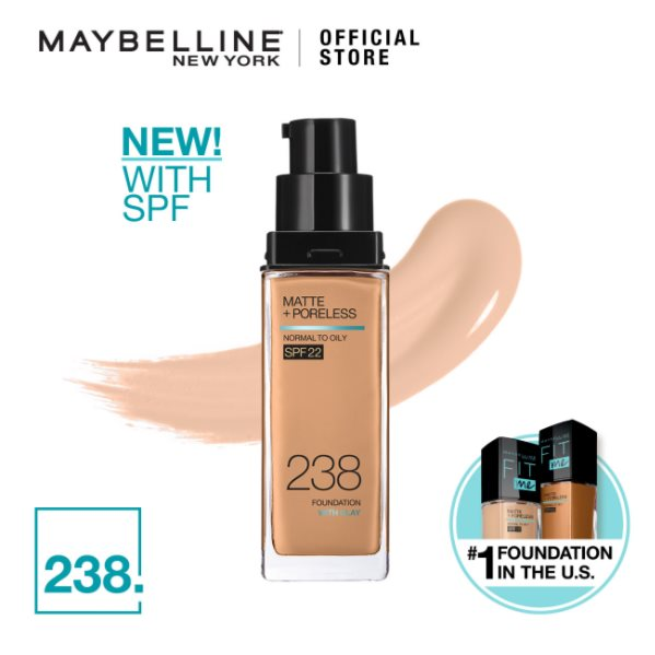 MAYBELLINE Fit Me Matte + Pore Foundation 238 Natural Buff 30ML