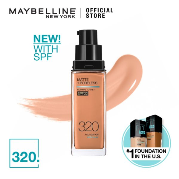 MAYBELLINE Fit Me Matte + Pore Foundation 320 Natural Tan 30ML