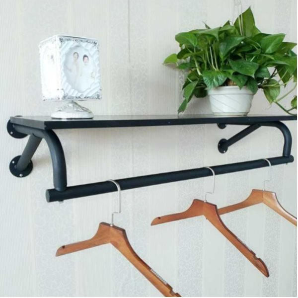 10pcs Of Wall Display Hanger Black 60cm With Plate