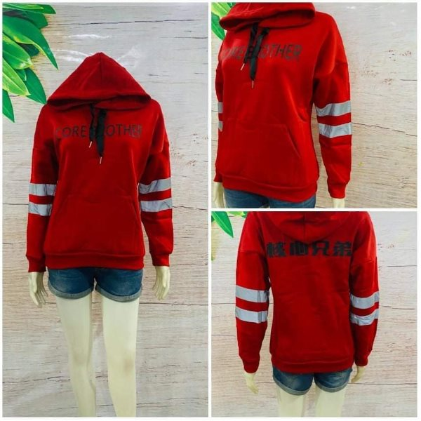 Unisex Core Brother Hoodie Red