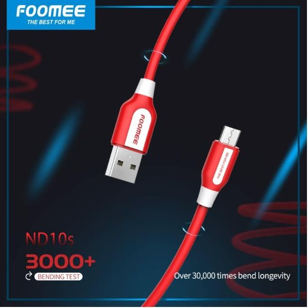 ND10s (Data Cable For Micro) Red